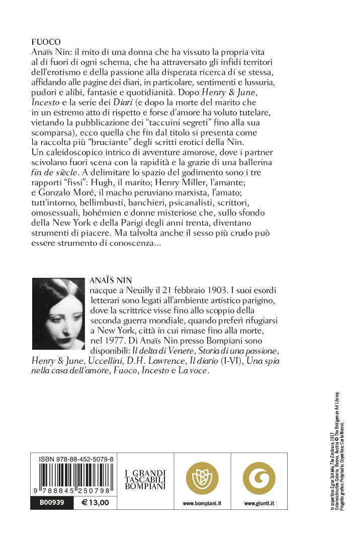 Fuoco. Diario inedito senza censura (1934-1937)