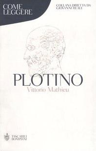 Come leggere Plotino