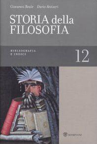Storia della filosofia dalle origini a oggi