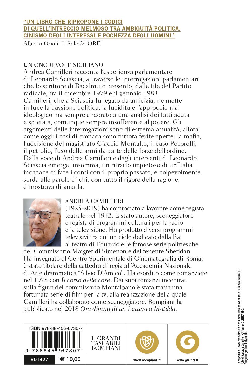 Un onorevole siciliano. Le interpellanze parlamentari di Leonardo Sciascia