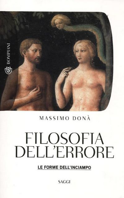 Filosofia dell'errore. Le forme dell'inciampo