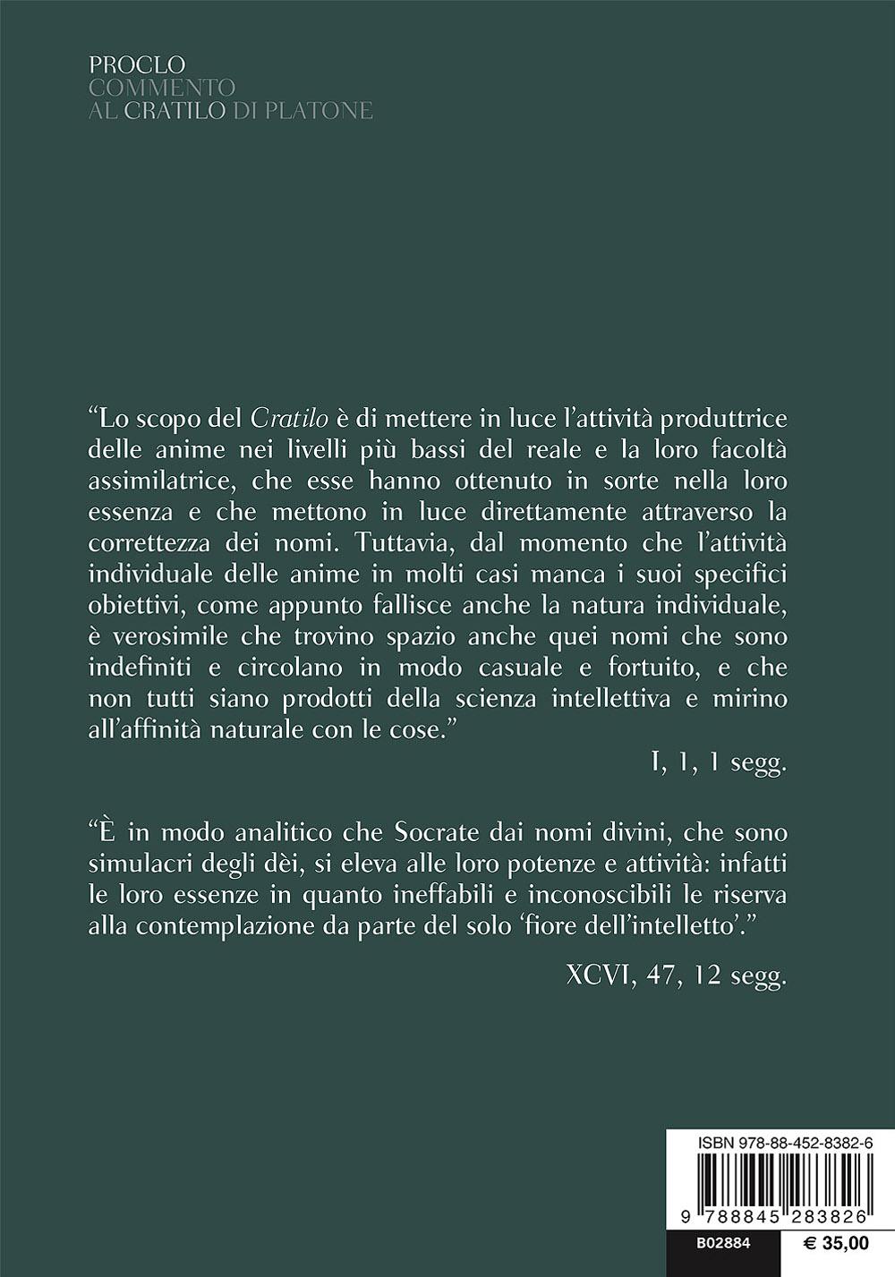 Commento al Cratilo di Platone