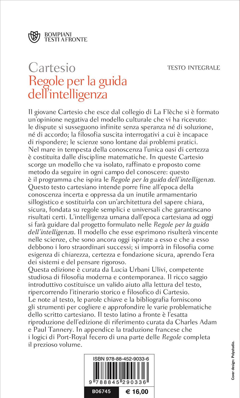 Regole per la guida dell'intelligenza