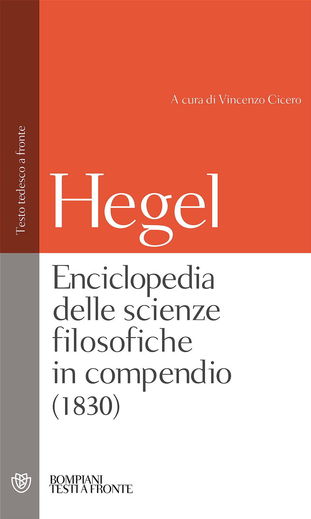 Enciclopedia delle scienze filosofiche in compendio (1830)