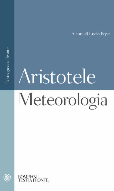 Meteorologia. Testo greco a fronte