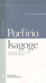 Isagoge. Testo greco a fronte