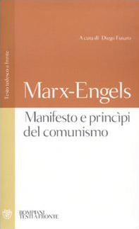 Manifesto e princìpi del comunismo. Testo tedesco a fronte