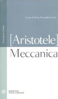 Meccanica. Testo greco a fronte