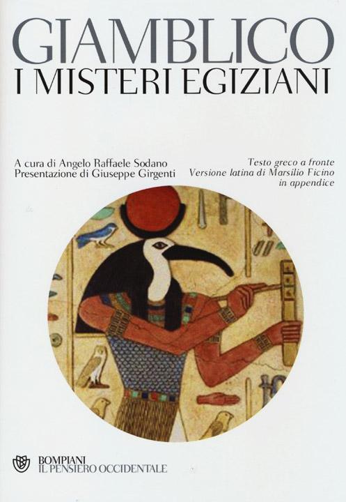 I misteri egiziani. Testo greco a fronte