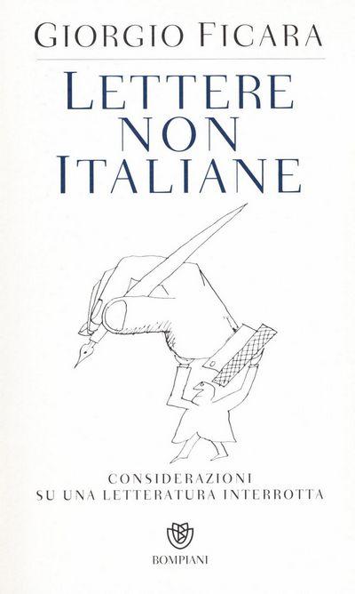 Lettere non italiane. Considerazioni su una letteratura interrotta
