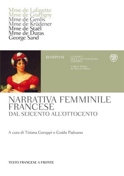 Narrativa femminile francese dal Seicento all'Ottocento