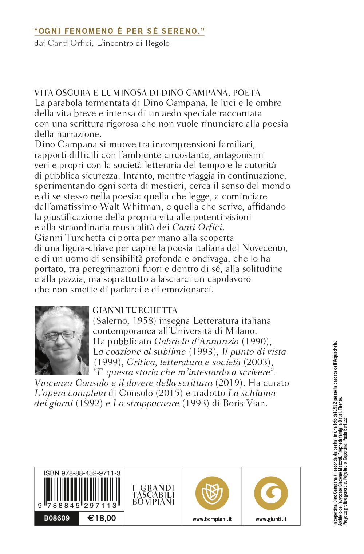 Vita oscura e luminosa di Dino Campana, poeta