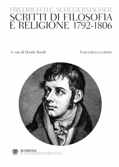 Scritti di filosofia e religione 1792-1806