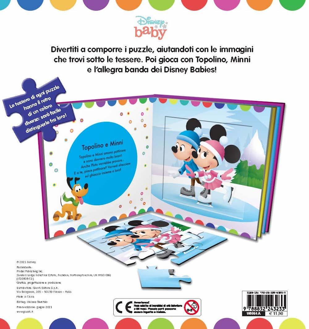 Disney baby Libro Maxi Puzzle