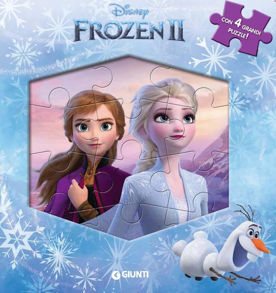 Frozen 2 - Libro Maxi puzzle
