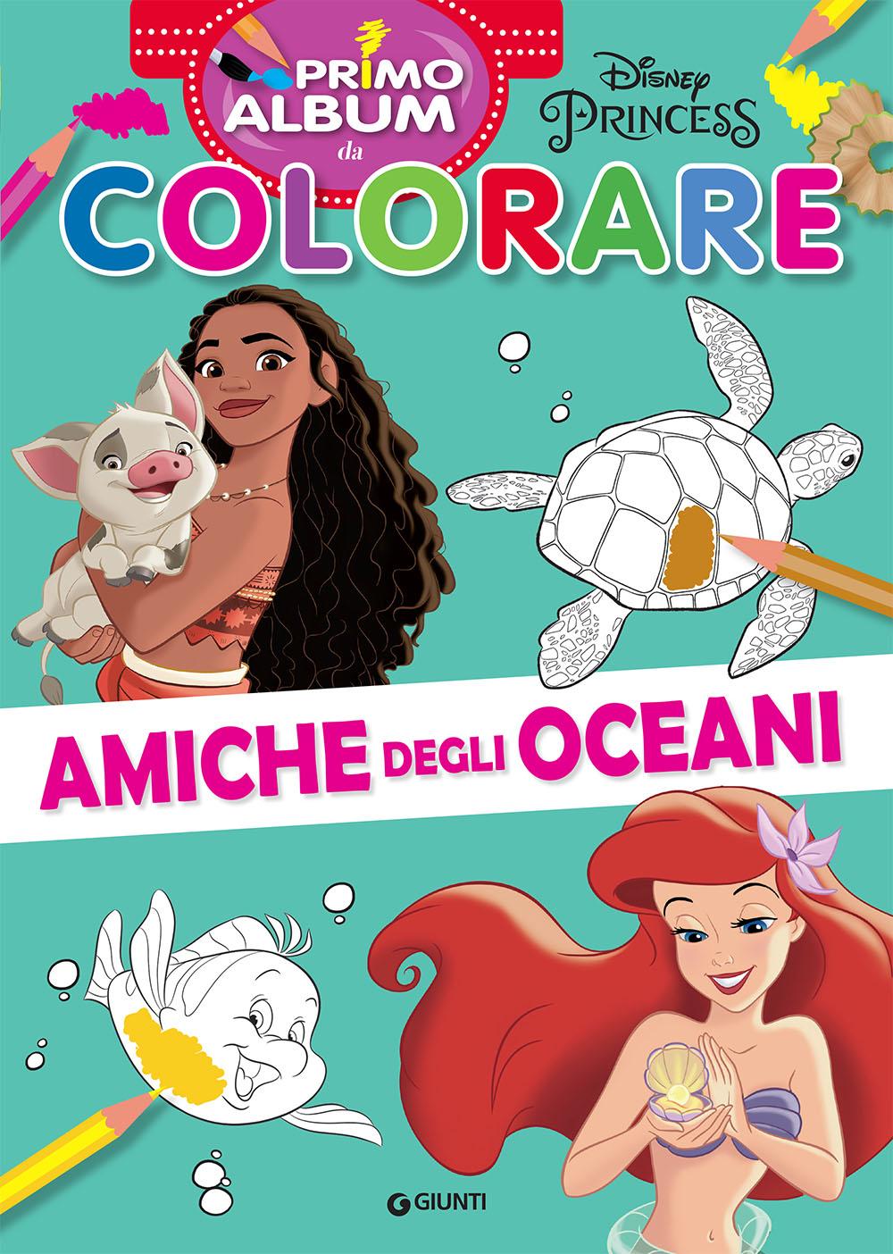 Primo album da colorare Disney Princess