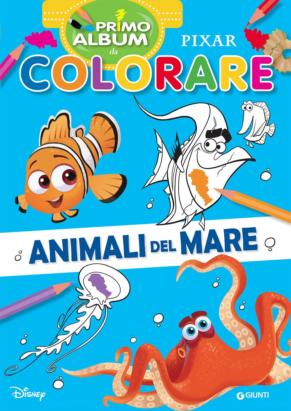Primo album da colorare Pixar