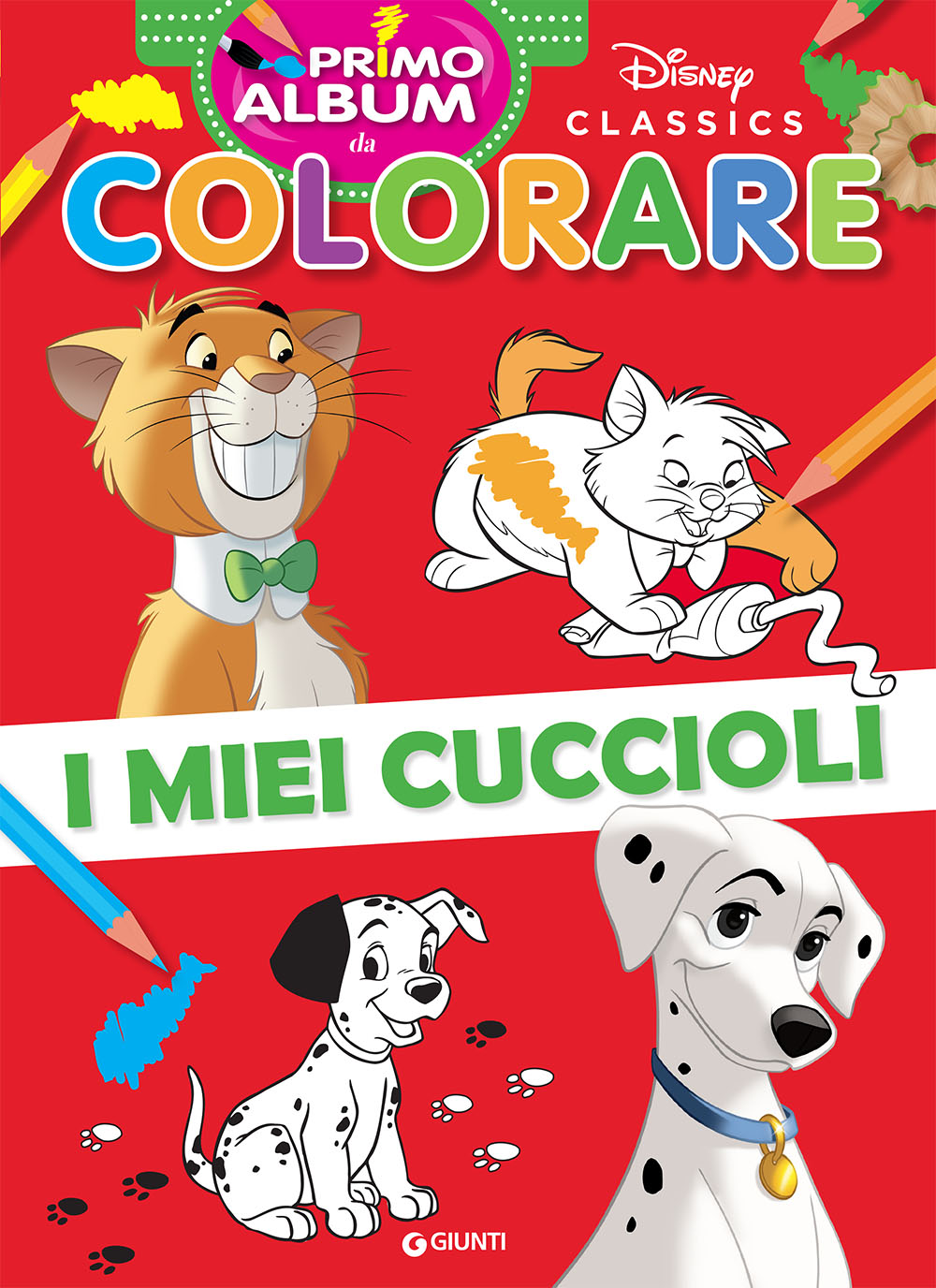 Primo album da colorare Disney Classics