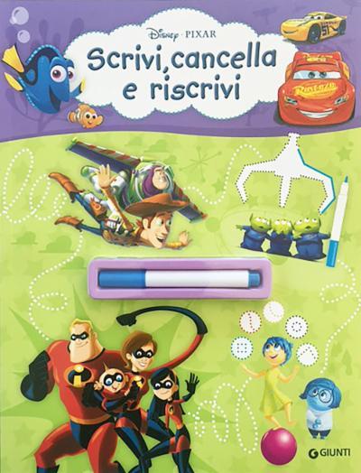 Scrivi, cancella e riscrivi Disney Pixar