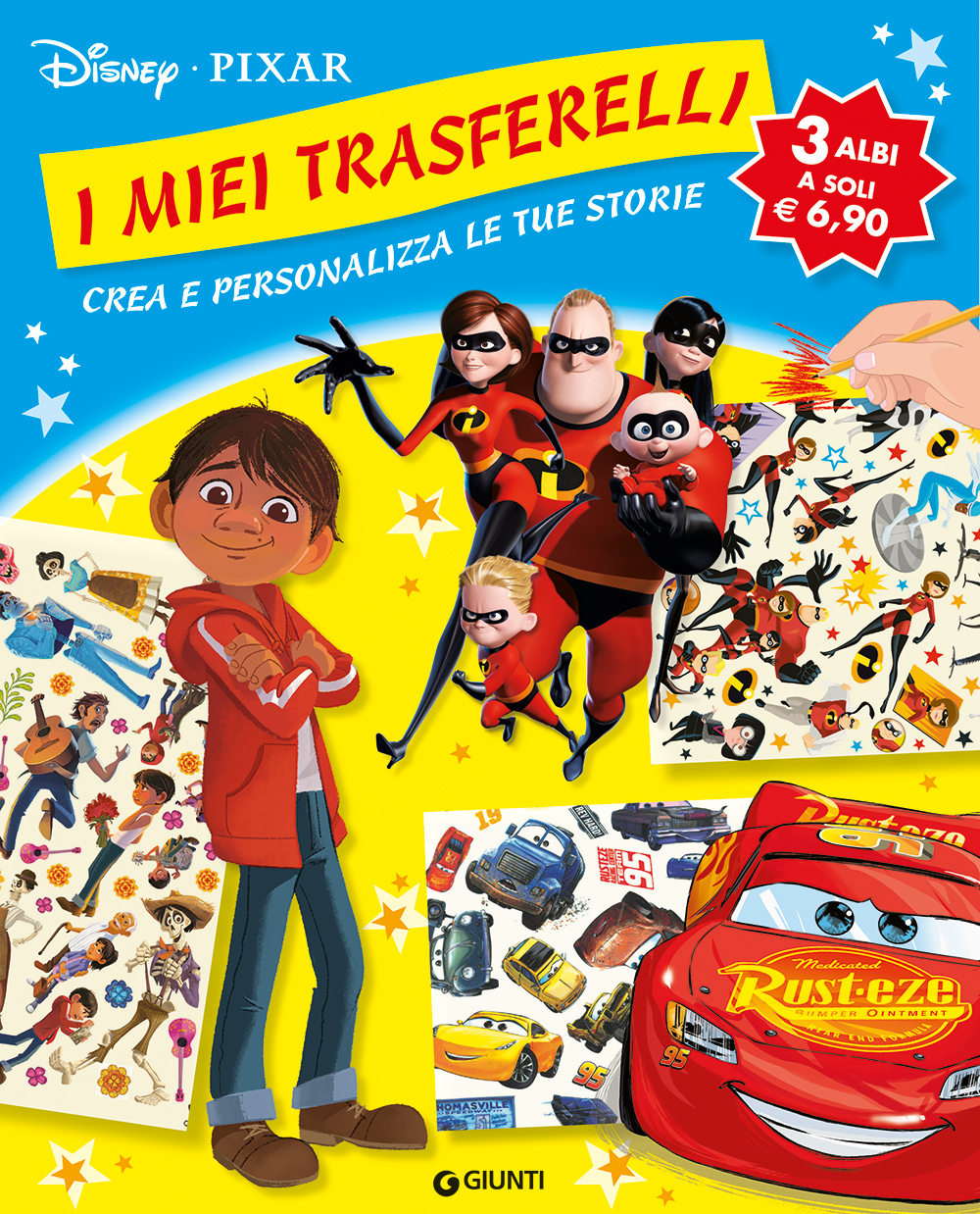 Miei Trasferelli Disney Pixar