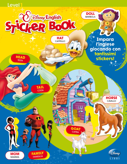 Sticker book. Level 1. Con adesivi. Ediz. bilingue