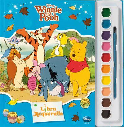 Libro Acquerello - Winnie the Pooh