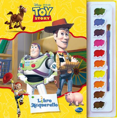 Libro Acquerello - Toy Story