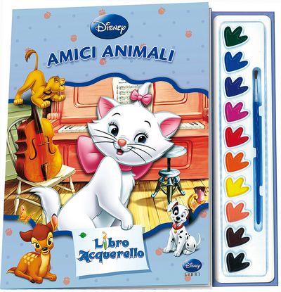 Libro Acquerello - Aristogatti. Amici animali