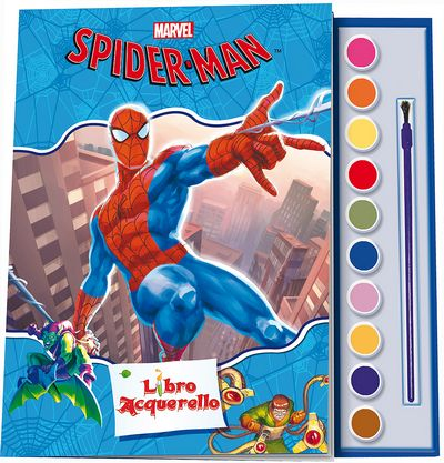 Libro Acquerello - Spider-Man