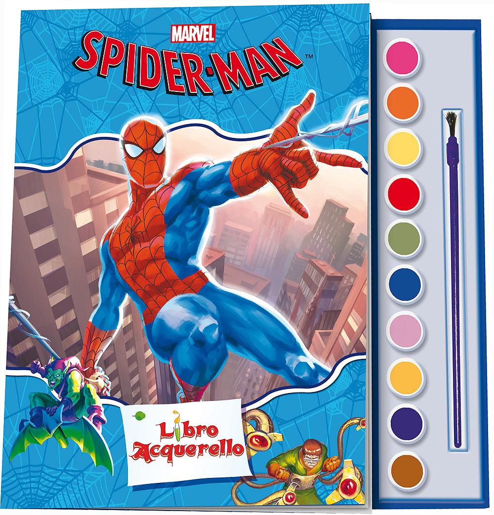 Libro Acquerello - Spider-Man