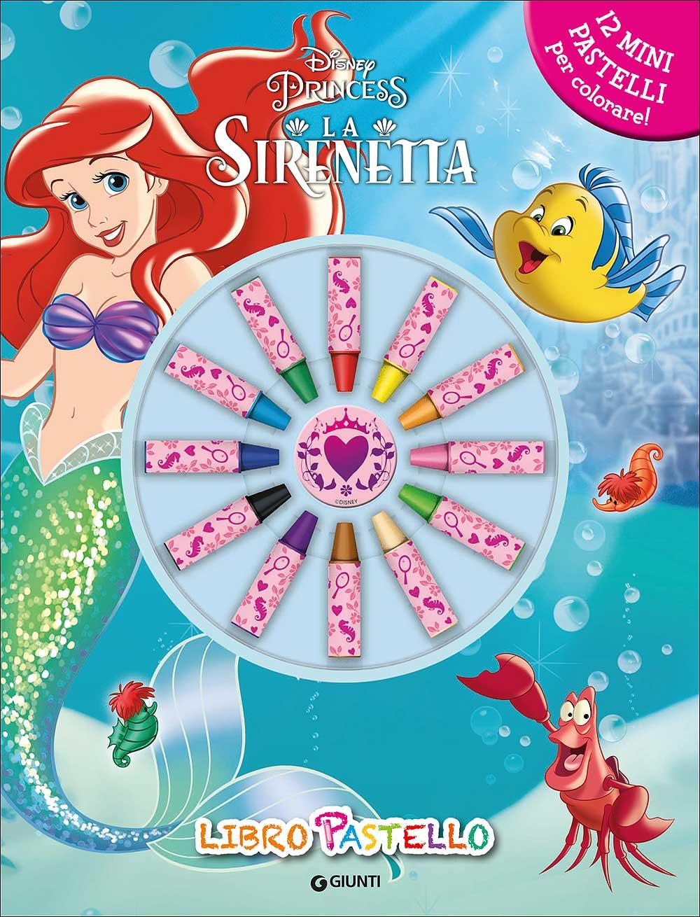 Libro Pastello - La Sirenetta