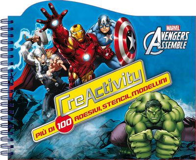 Crea Activity - Avengers Assemble