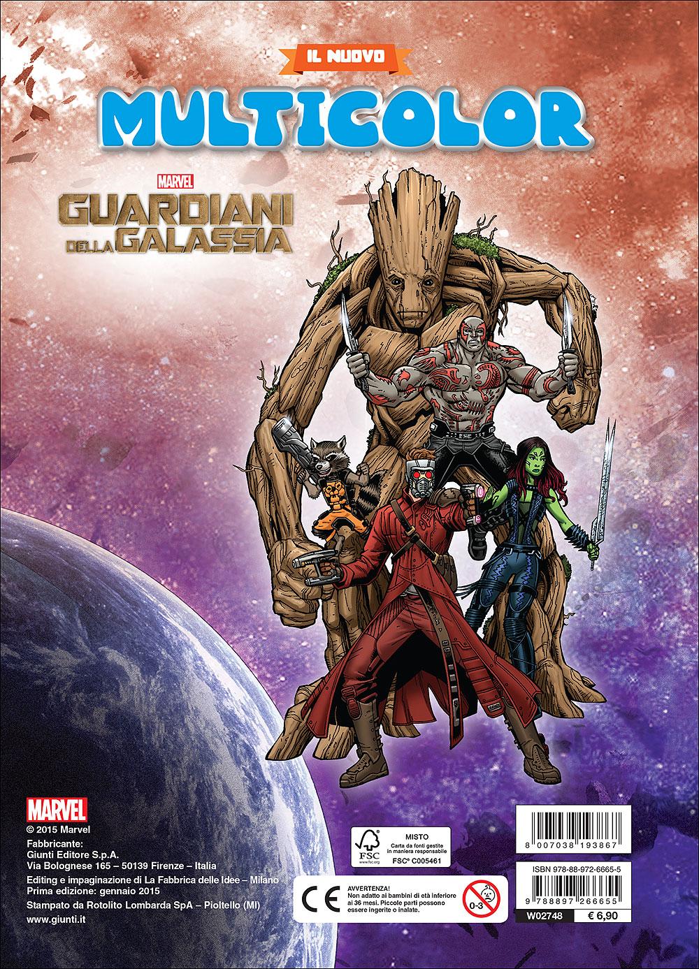 Il nuovo Multicolor - Guardiani della Galassia