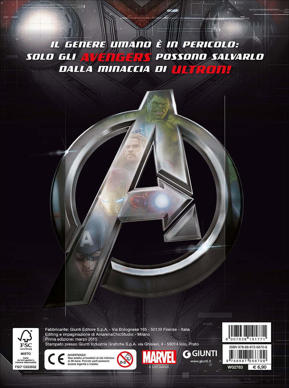 Attacca gli eroi - Avengers. Age of Ultron