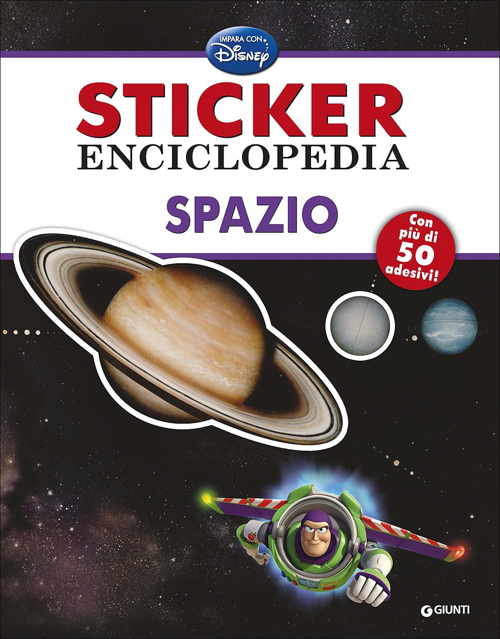 Sticker Enciclopedia - Spazio