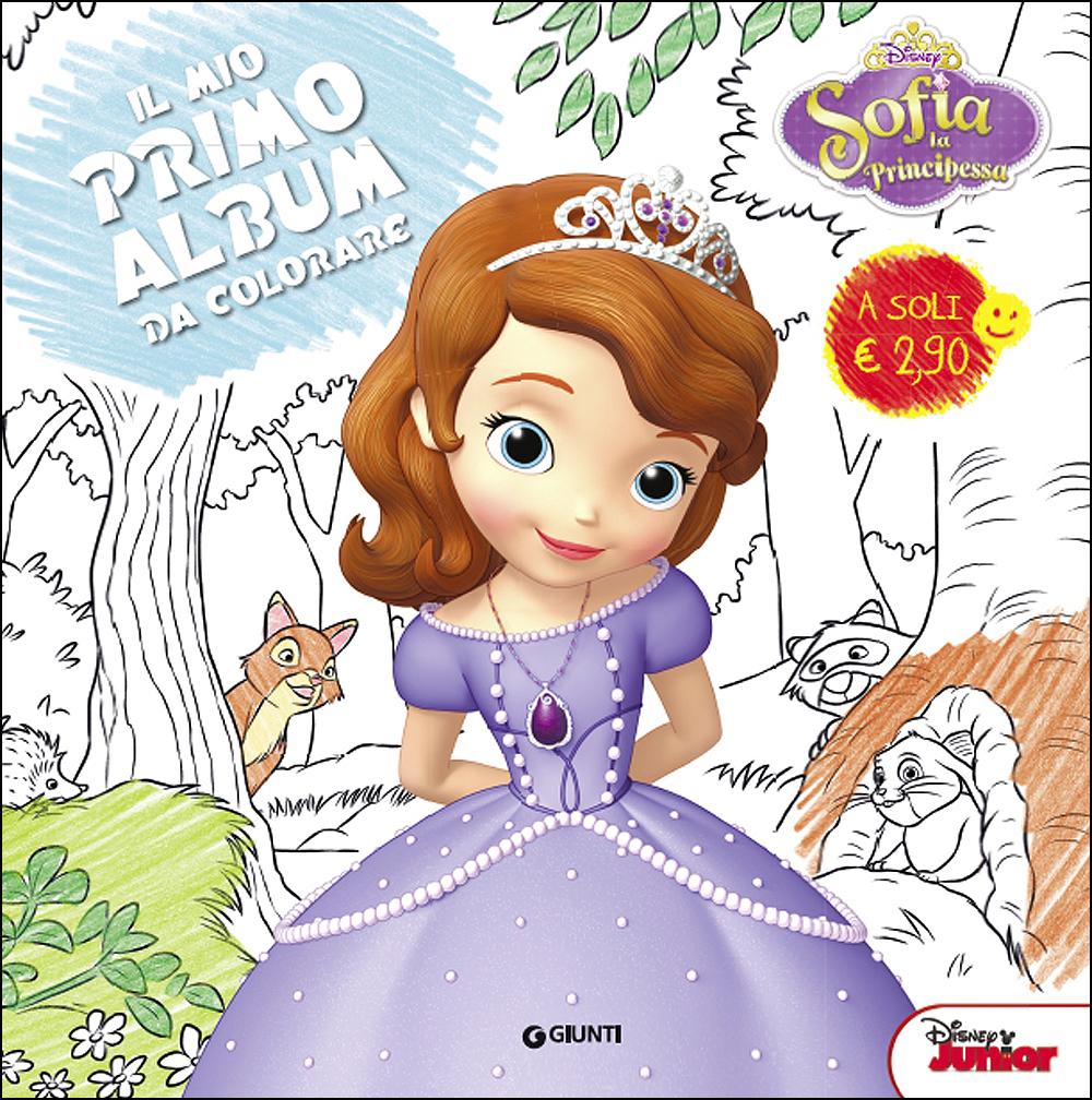 Il Mio Primo Album Da Colorare Sofia La Principessa Giunti