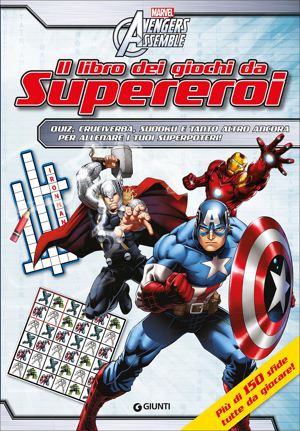 Il libro dei giochi da Supereroi - Avengers Assemble