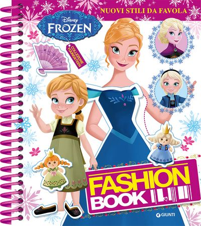 Fashion Book - Frozen