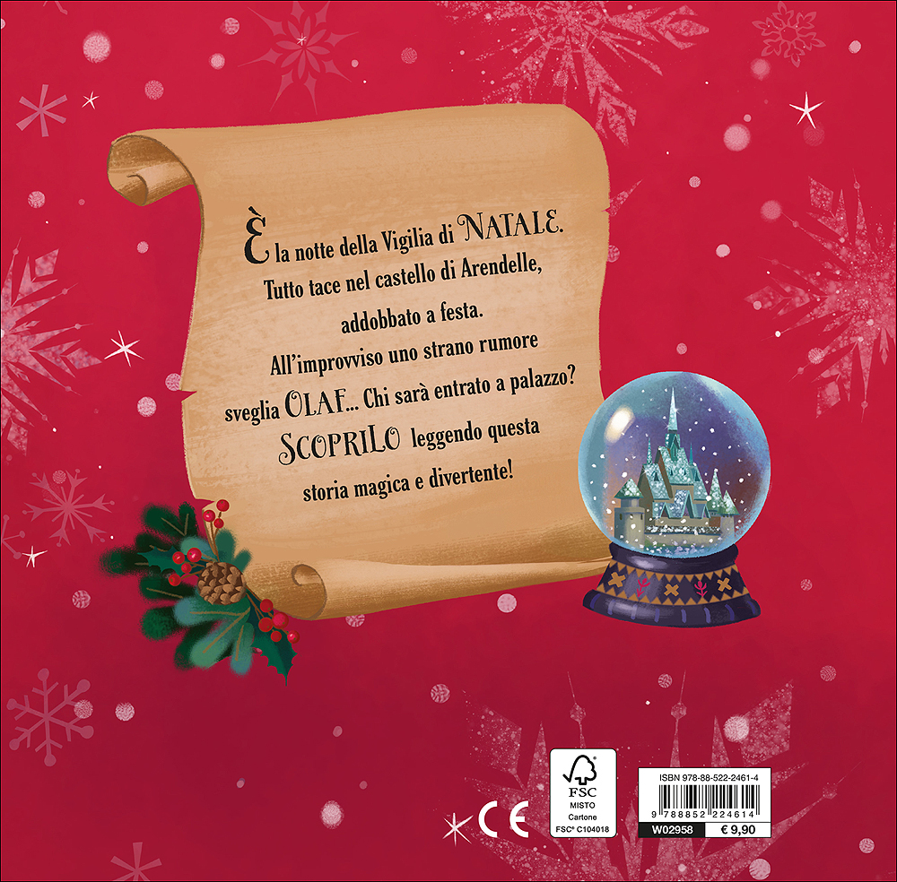 Immagini Di Vigilia Natale.Magie Cartonate Frozen Olaf E La Vigilia Di Natale Giunti