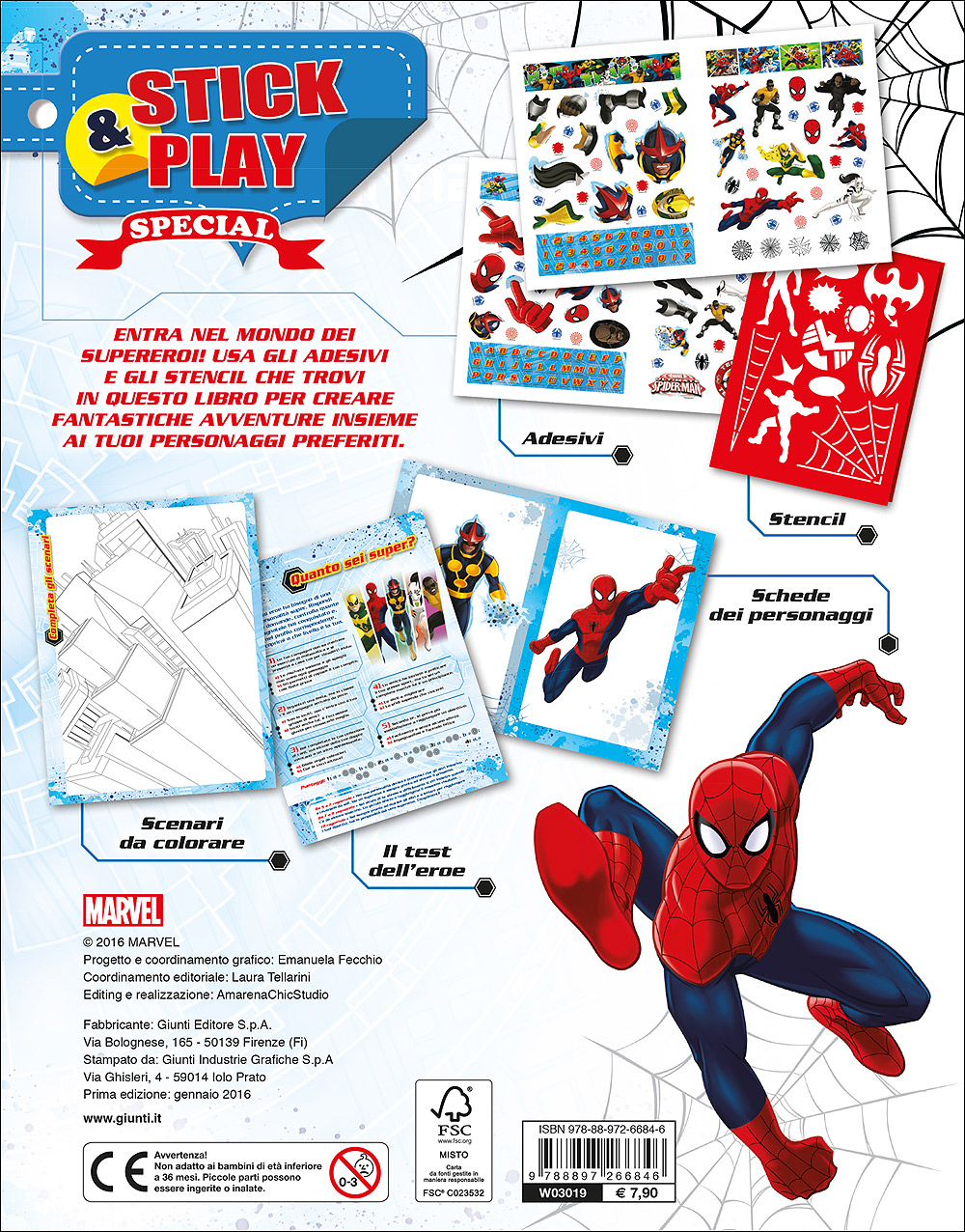 Stick&Play Special - Ultimate Spider-Man