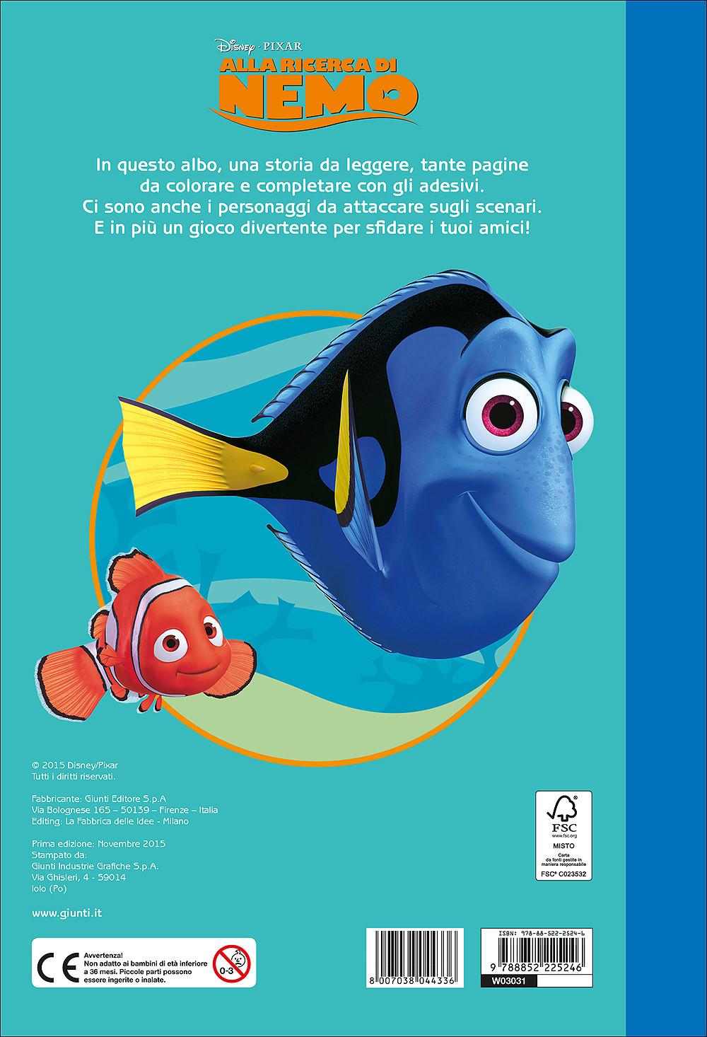 Alla ricerca di Nemo - Staccattacca&Colora