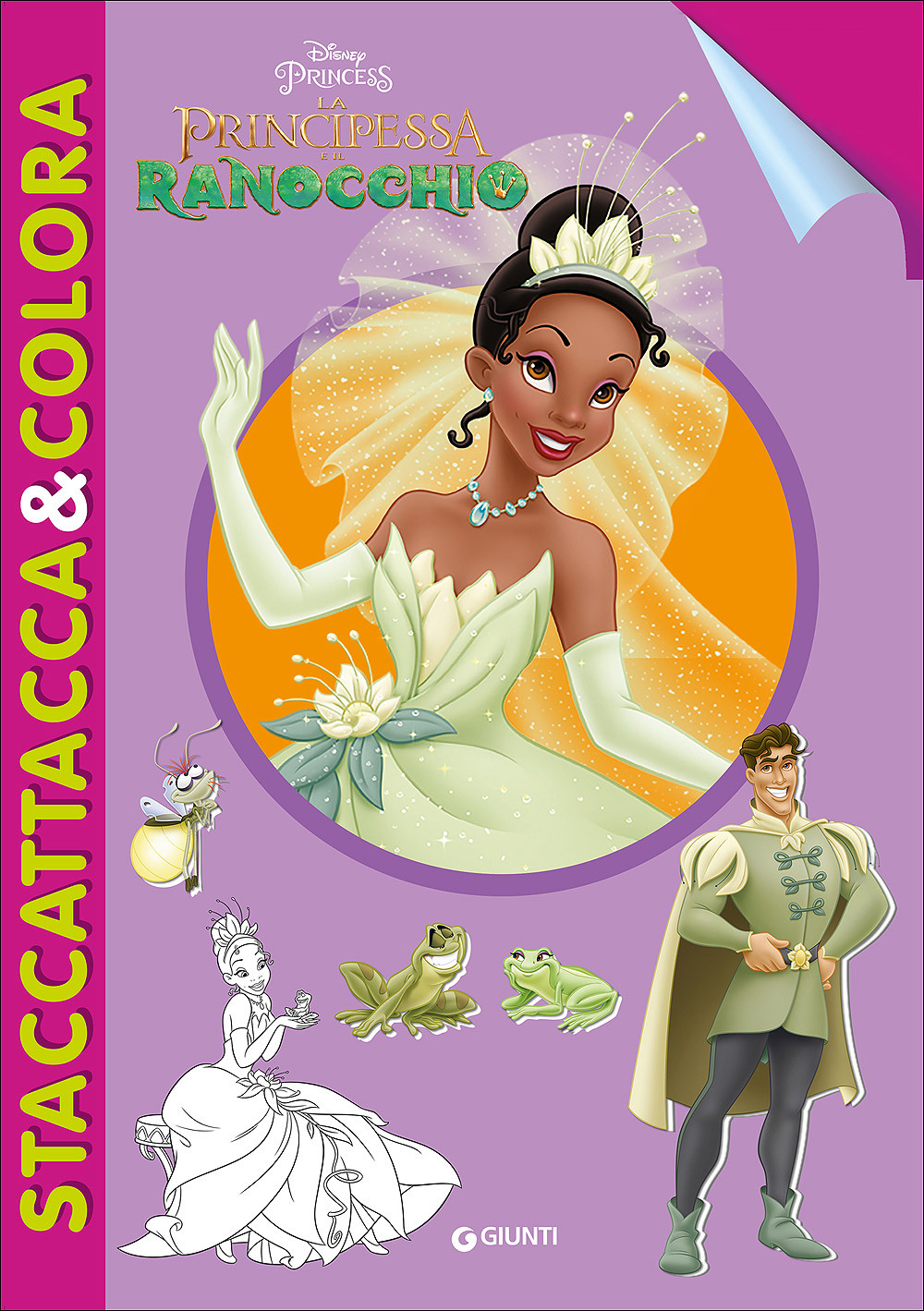 La Principessa e il Ranocchio - Staccattacca&Colora