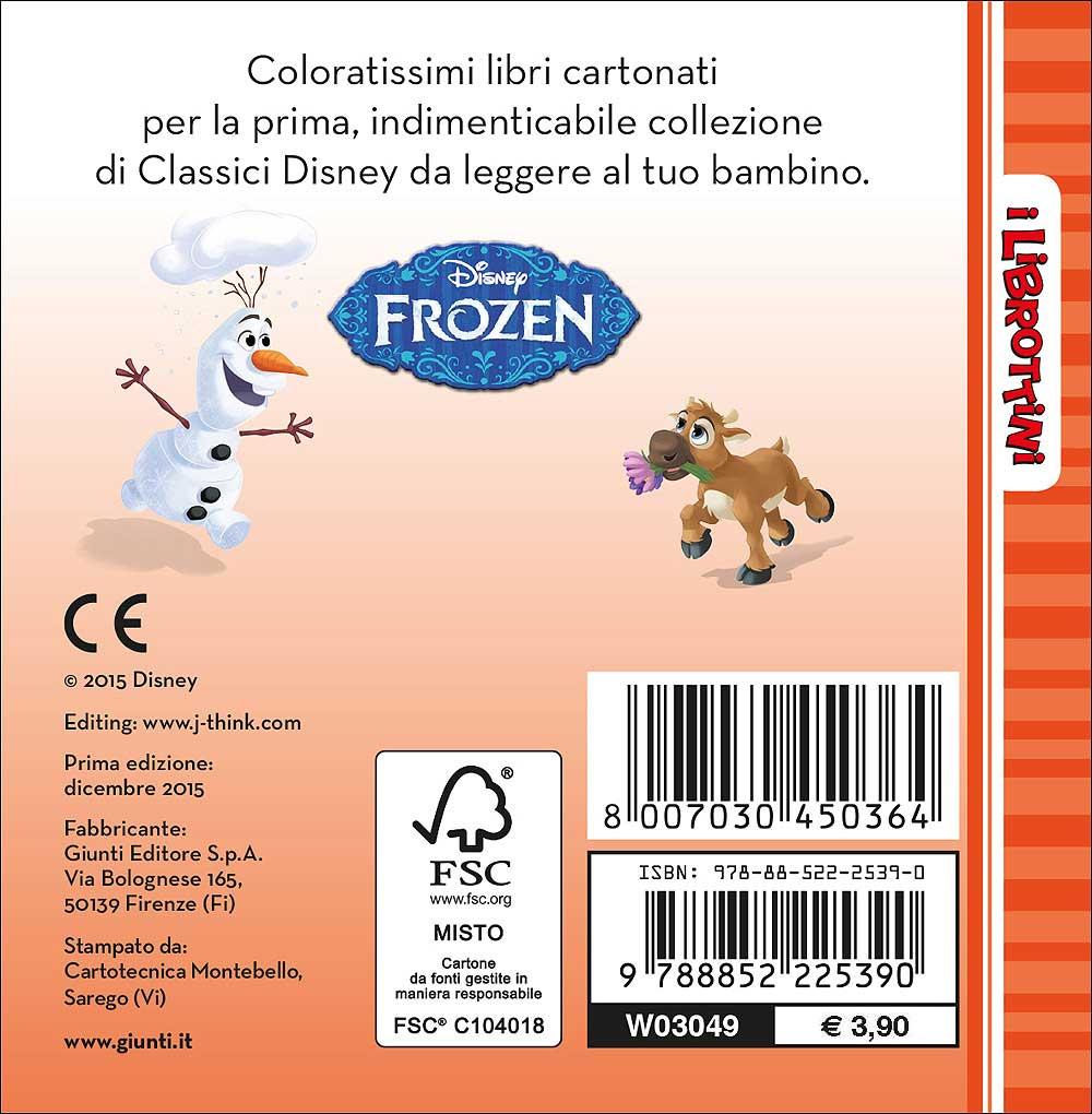 Frozen - I Librottini - Un amico per Olaf