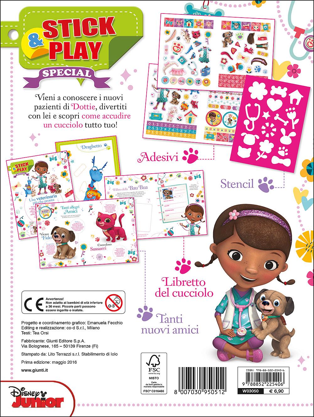 Stick&Play Special - Dott.ssa Peluche. Piccola veterinaria
