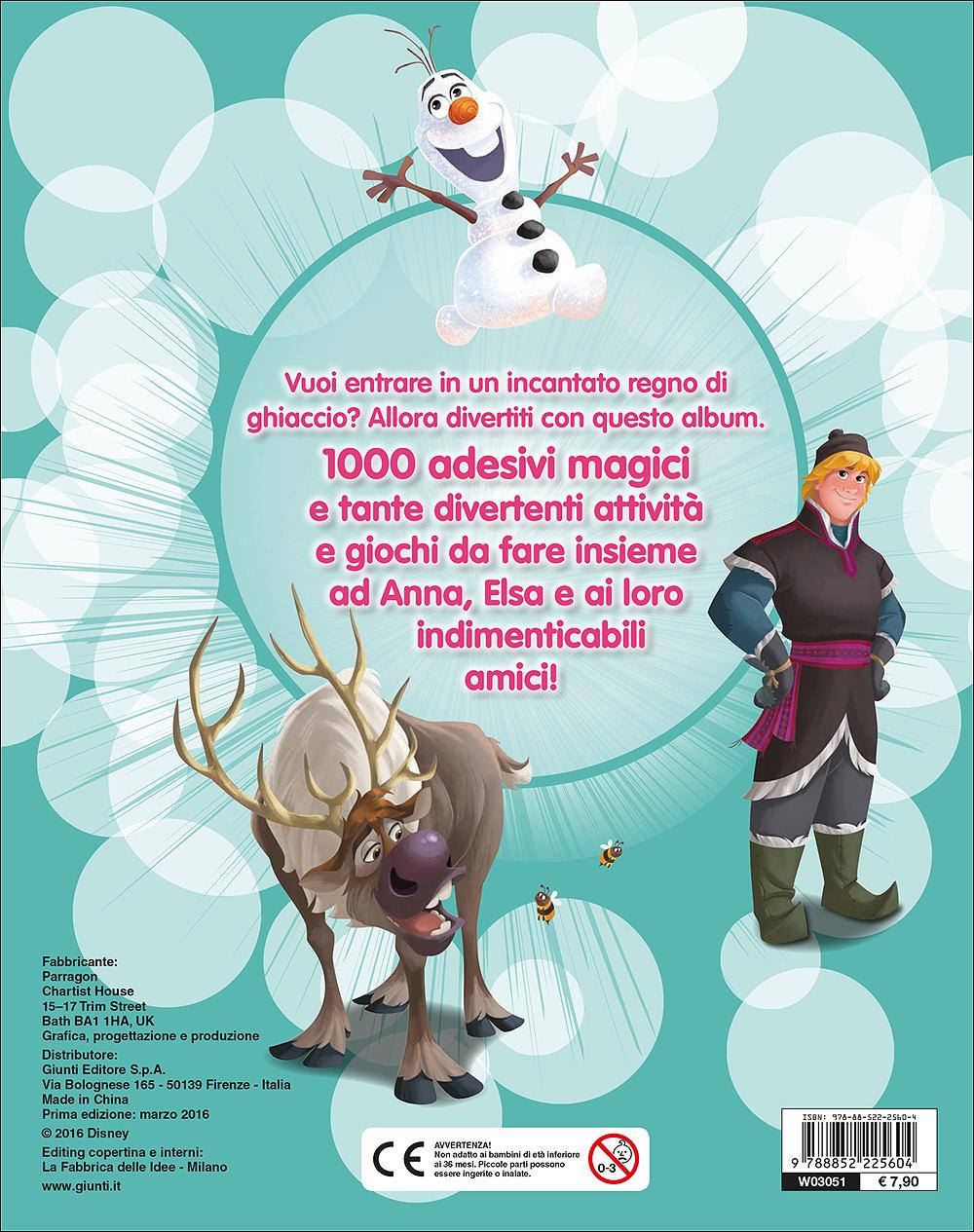 500/1000 Stickers - Frozen. 1000 Stickers