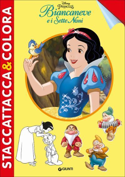 Biancaneve e i Sette Nani - Staccattacca&Colora