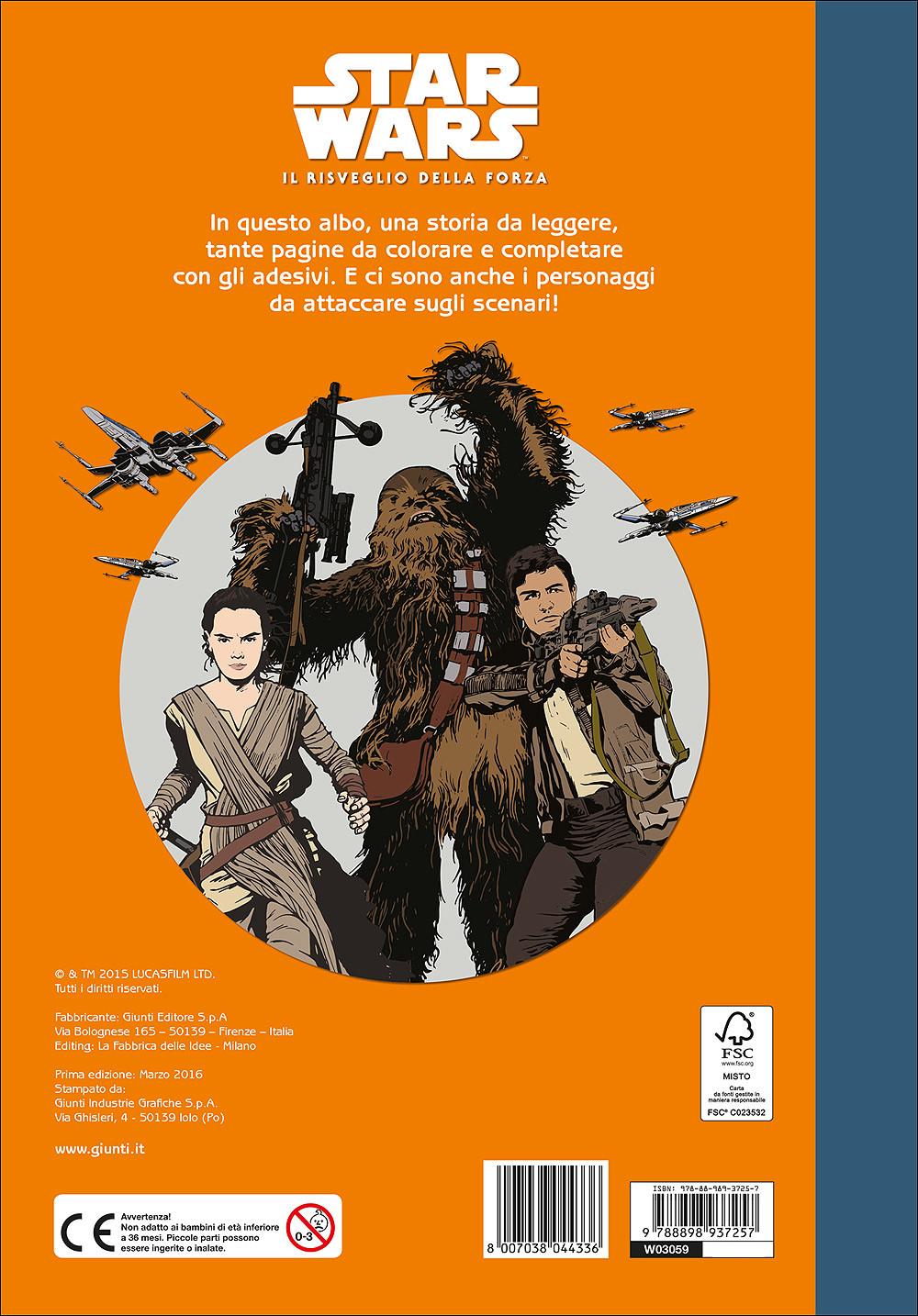 Staccattacca&Colora - Star Wars. Il Risveglio della Forza