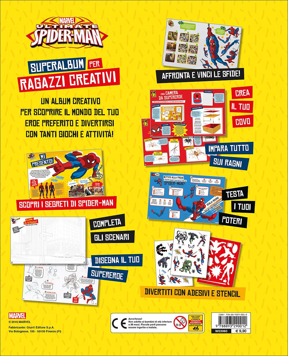 Superalbum per Ragazzi Creativi - Ultimate Spider-Man