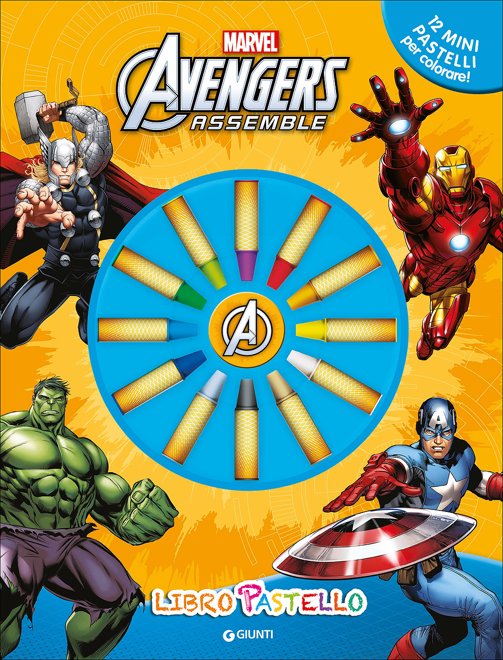 Libro Pastello - Avengers Assemble