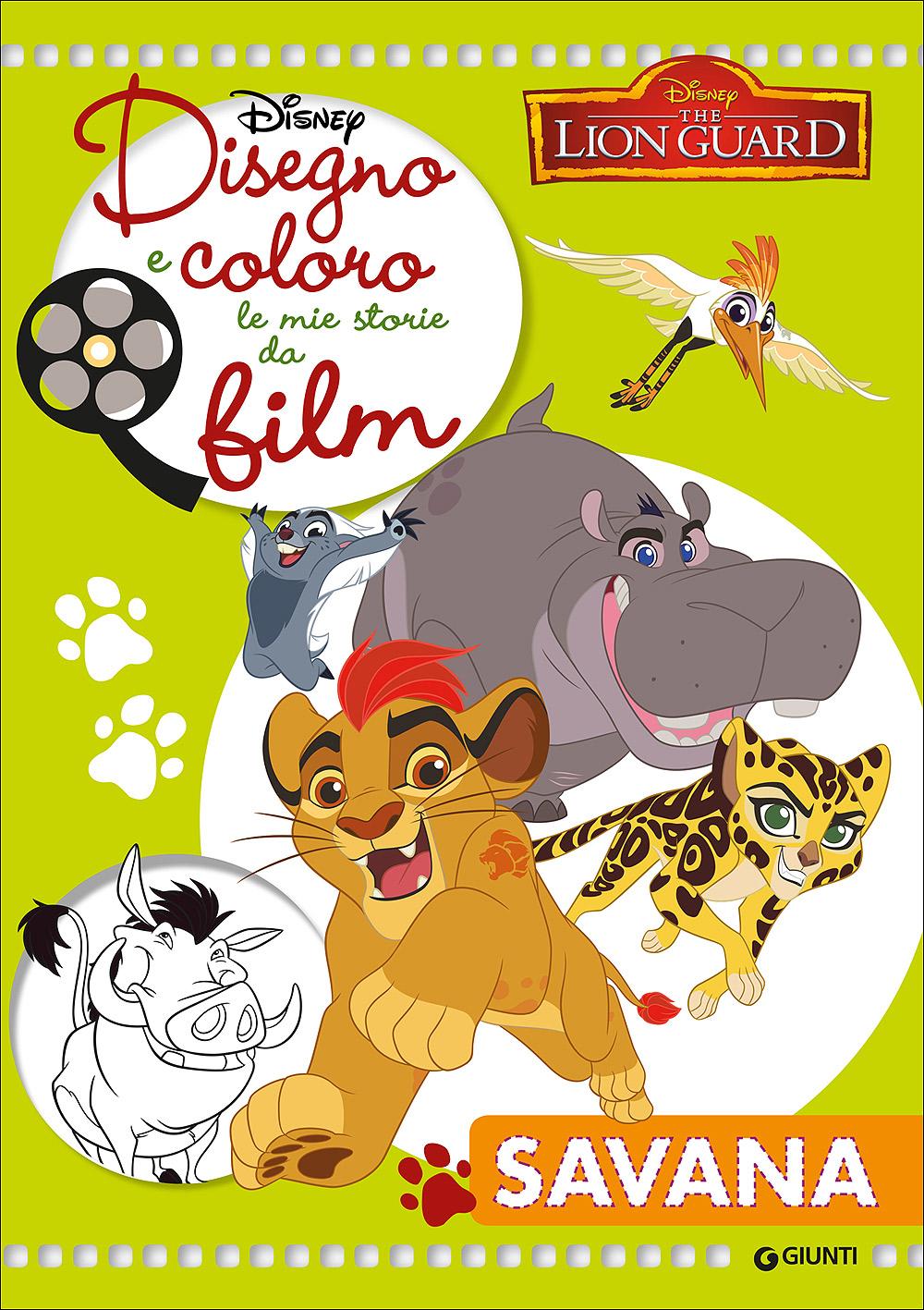 Disegno e Coloro le Mie Storie da Film - The Lion Guard. Savana